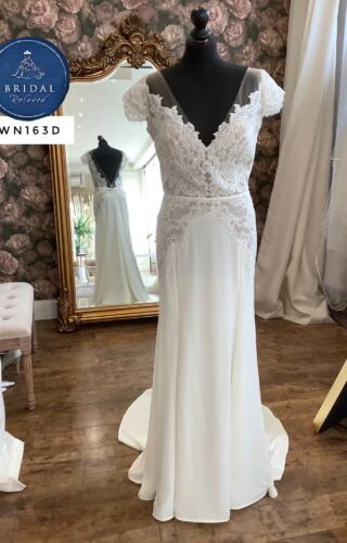Watters | Wedding Dress | Fit to Flare | WN163D