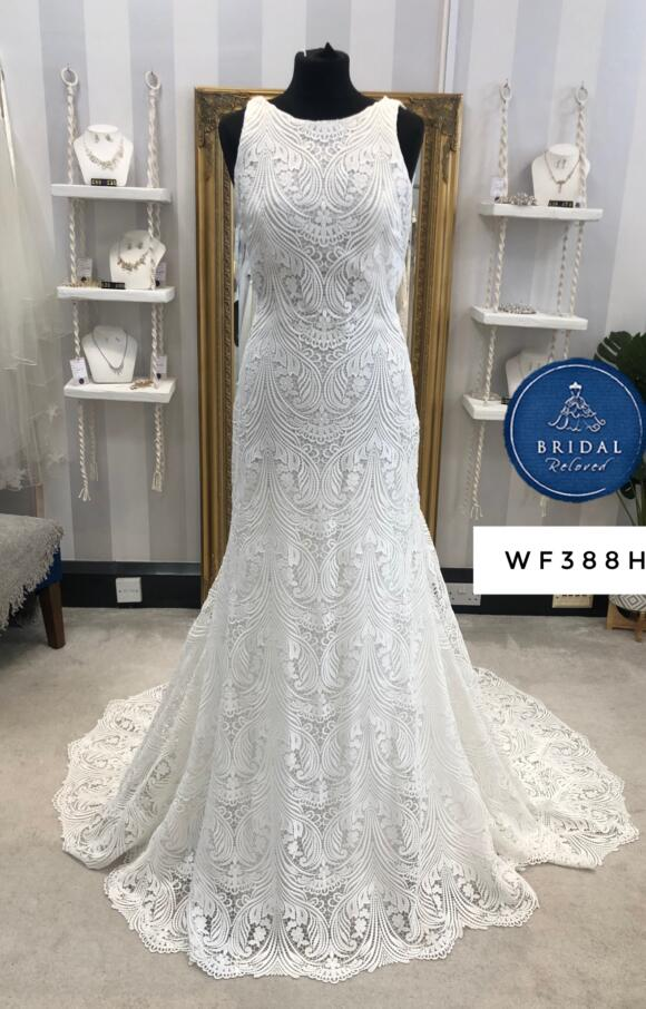 White April | Wedding Dress | Fit to Flare | WF388H
