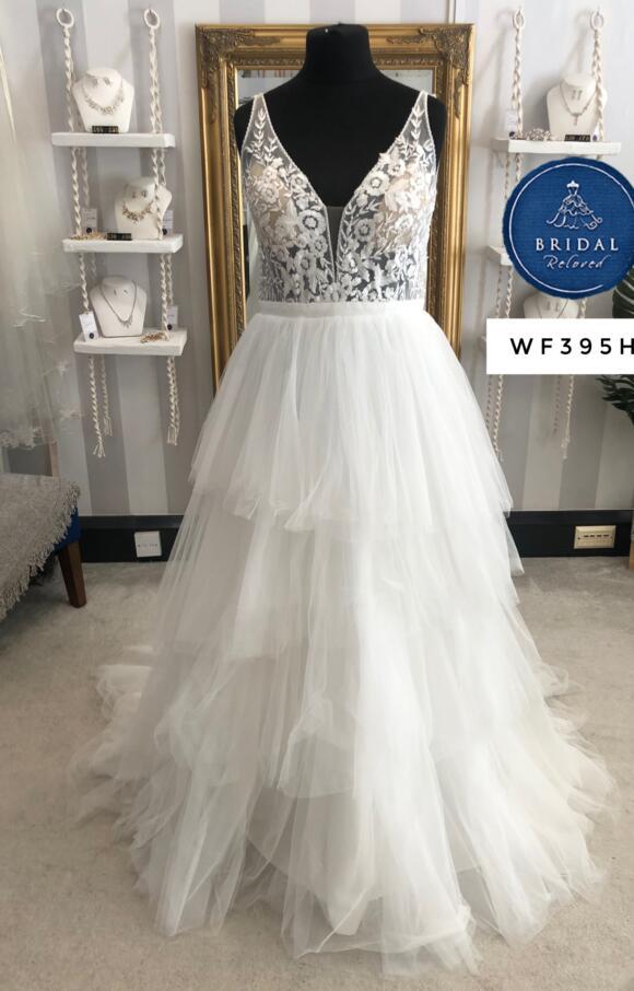 Allison Webb | Wedding Dress | Aline | W395H